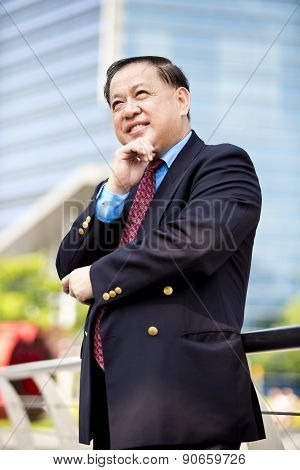 Asian businessman portrait