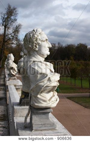 Sculpture In Park Arkhangelskoe, Moscow