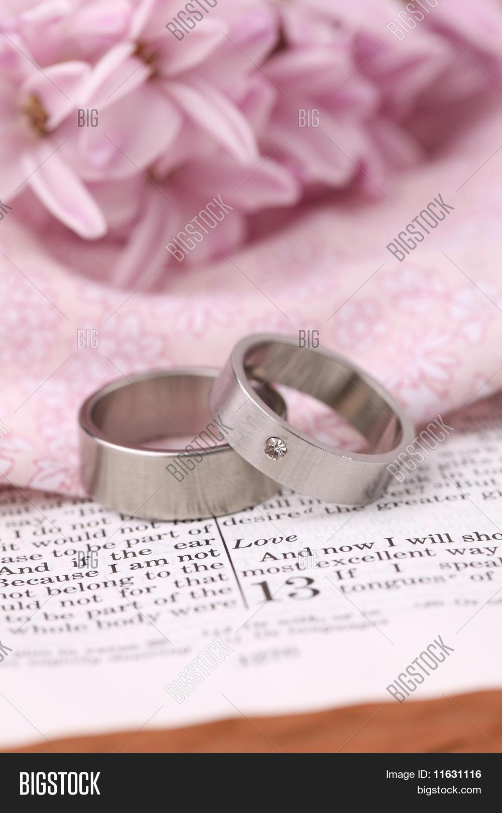 Bible Wedding Rings Image & Photo (Free Trial)   Bigstock