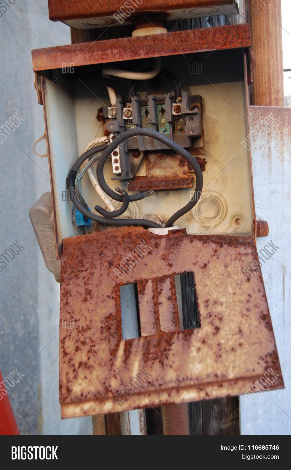 Broken Fuse Box Simple Wiring Diagram Painless Image Photo Free Trial Bigstock Blown Glass