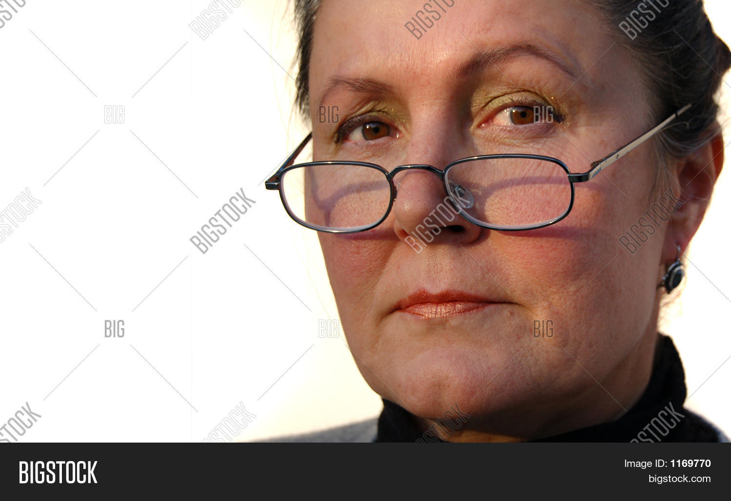 Stern Female Executive Image & Photo (Free Trial) | Bigstock