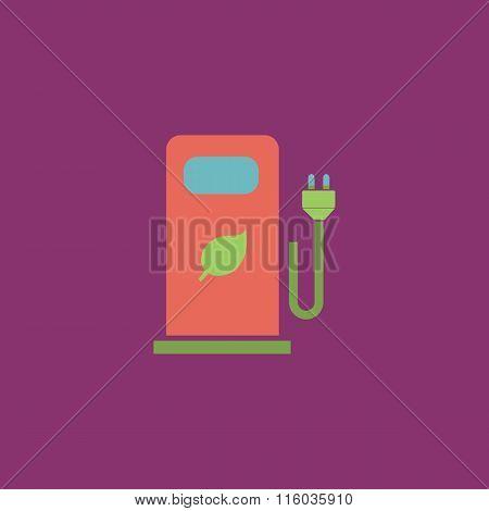 Electric car charging station or Bio fuel petrol
