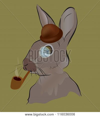 Rabbit Sherlock Holmes
