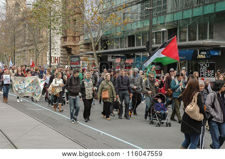 2012 Adelaide Walk Together March