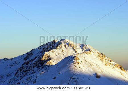 Winter In The Mountains Of Turkey