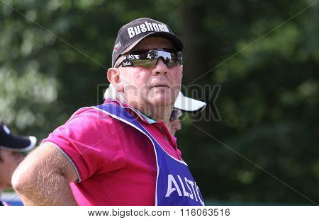 Caddie At The Golf French Open 2015