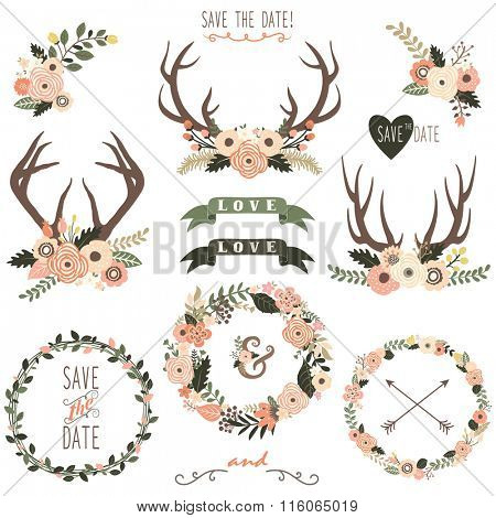 Floral Antlers Collection