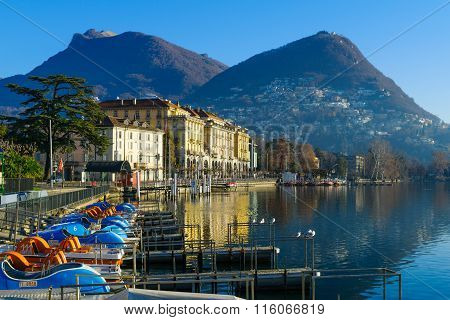 The Lakeside Promenade, Lugano