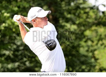 Anders Hansen At The Golf French Open 2015