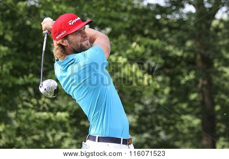 Johan Carlsson At The Golf French Open 2015