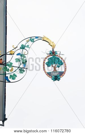 Traditional Tafeen Sign, In Appenzell