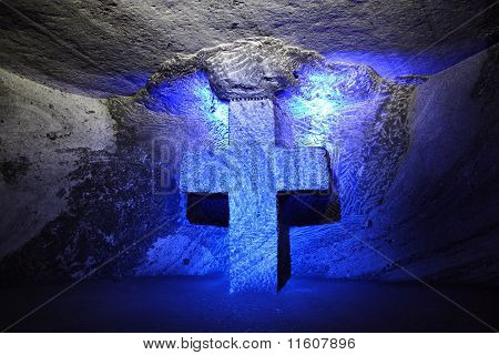 The Salt Cathedral of Zipaquira