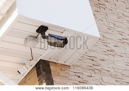 Infrared Security Day And Night Cameras.