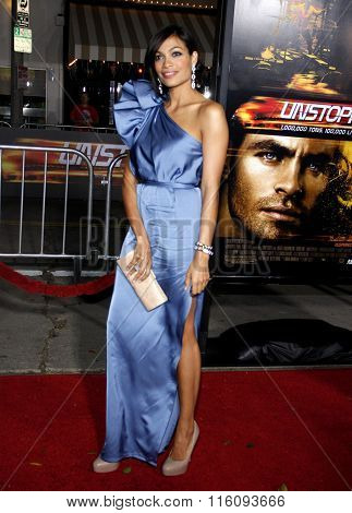Rosario Dawson at the Los Angeles Premiere of