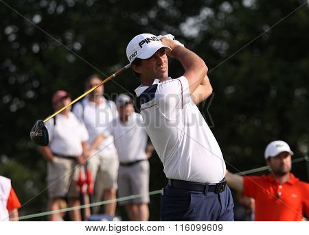 John Parry At The Golf French Open 2015