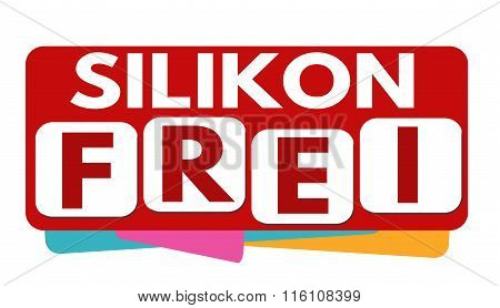 Silicone Free Banner Or Label