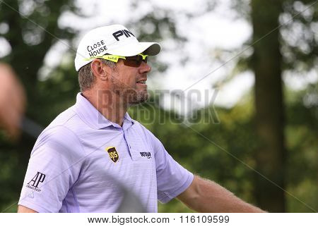 Lee Westwood At The Golf French Open 2015
