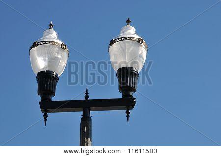 Vintage street lamp