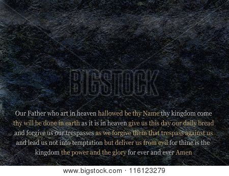 The Lord's Prayer Message Board