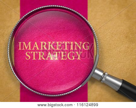IMarketing Strategy through Lens on Old Paper.