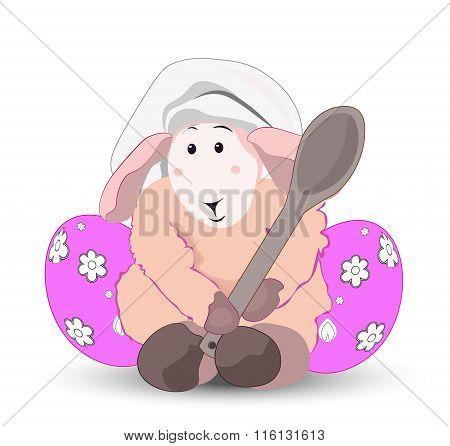 Easter Lamb  Cook