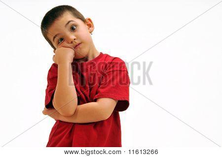 Frustrated Boy
