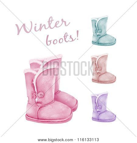 Winter Warm Boots