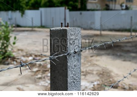 Wire With Clusters Of Short.