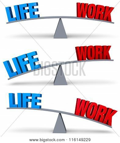 Weighing Life Work Balance