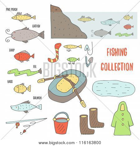 Fishing objects