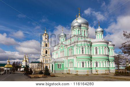 Holy Trinity-saint Seraphim-diveyevo Monastery. Diveevo, Russia