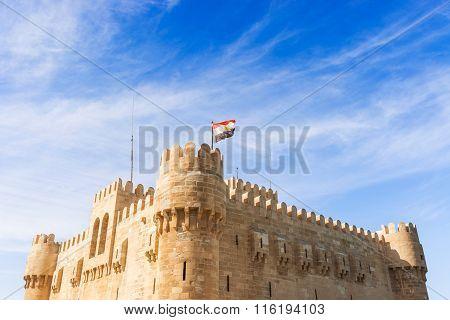 Qaitbay  Citadel In Alexandria Egypt