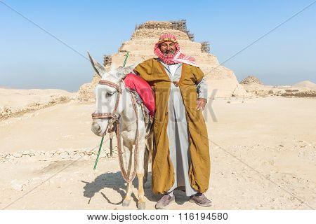 Pyramid Of Djoser, Egypt