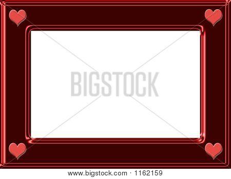 Four Heart Frame