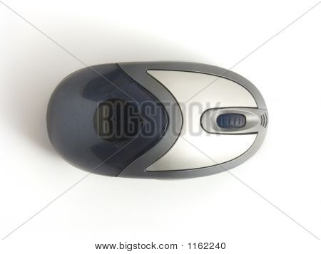 Used Computer Mouse - Top View