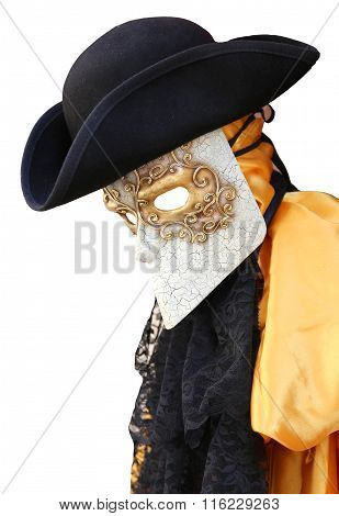 Venice Carnival Costume Of An Ancientvenetian Nobleman