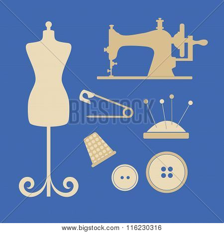 Sewing Tools And Attributes