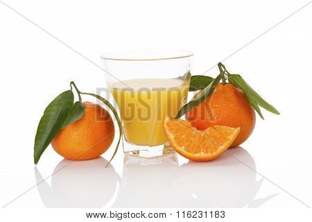 Fresh Mandarin Juice.