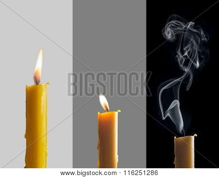 Three Candles Phases