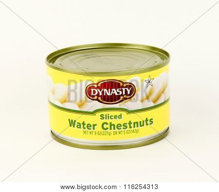Can Of Dynasty Sliced Water Chestnuts
