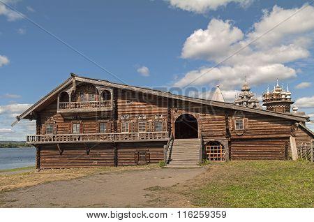 The House Of A Wealthy Karelian Farmer.