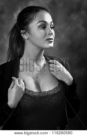 Heroic Woman Portrait
