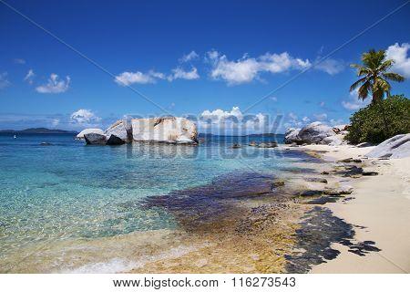British Virgin Islands Tropical Beach