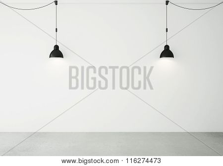Two Ceiling Lamps