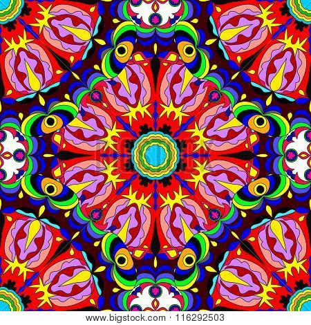 Tribal Vector Seamless Pattern