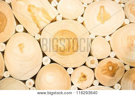 Table Design Stack Of Fire Wood Background