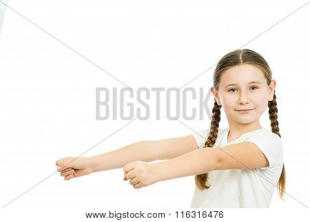 The Girl With The Straightened Hands