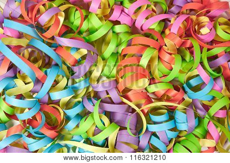 Colored Paper Streamers