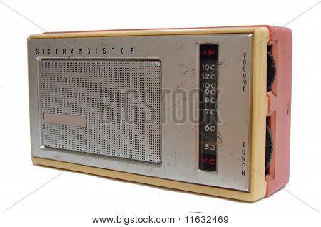 antique transistor radio