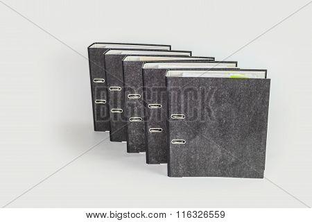 fife file folder isolated  on white background